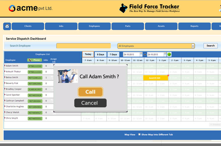 field service software plumbing