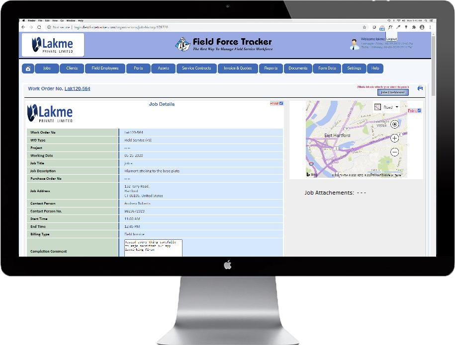 Work Order Management Software