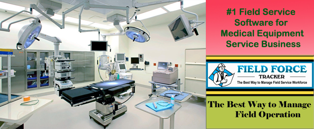 Low cost Medical Equipment Service Software