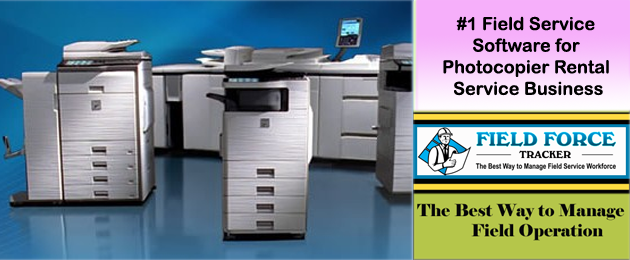 Photocopier rental Software